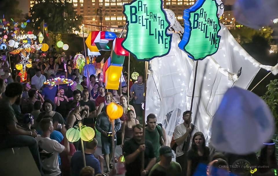 The Atlanta BeltLine Parade 2014. Source: CNU Atlanta.
