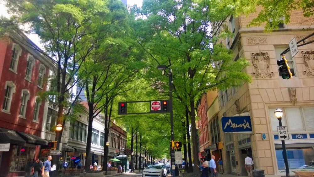 Broad Street in Downtown Atlanta.