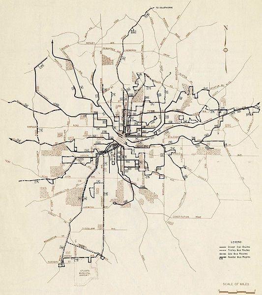 Atlanta Streetcars_1947